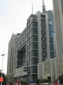 shangai beursgebouw